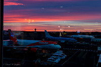 Dawning over the Airport