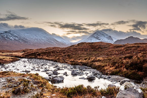 Sunrise in Sligachan